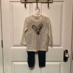 Girls size 4t Jessica Simpson Outfit